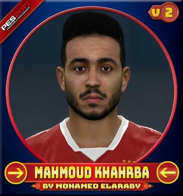 PES 2017 Mahmoud Khahrba Face by M.Elaraby Facemaker