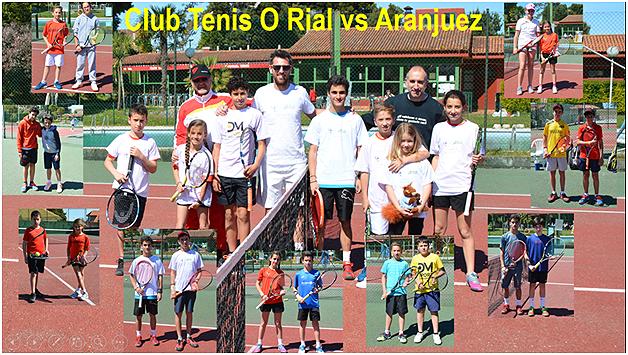 Club Tenis Aranjuez y Tenis O Rial