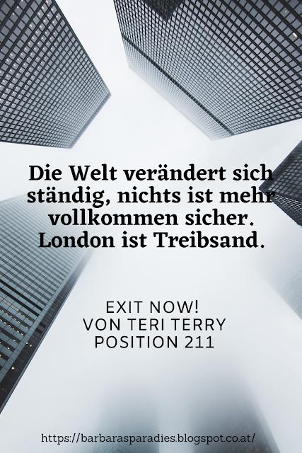 Buchrezension #282 Exit now! von Teri Terry