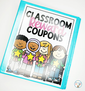 {Freebie} Are you thinking about implementing classroom reward coupons for your behavior management plan?  Say good-bye to spending money on treasure boxes and hello fun!  Students of all ages love this positive reinforcement because they are given a choice.  Use classroom reward coupons for all elementary grade levels - kindergarten, first, 2nd, 3rd, 4th, 5th and homeschoolers.  There is a reward for everyone!  #classroomrewardcoupons #classroomrewardselementary