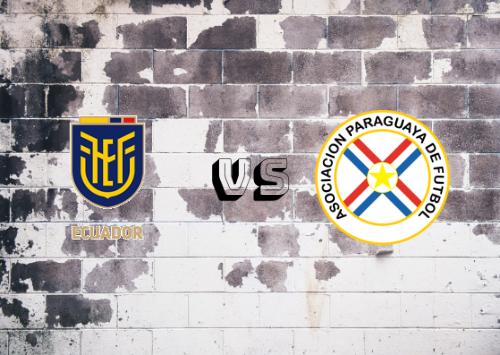 Ecuador vs Paraguay  Resumen