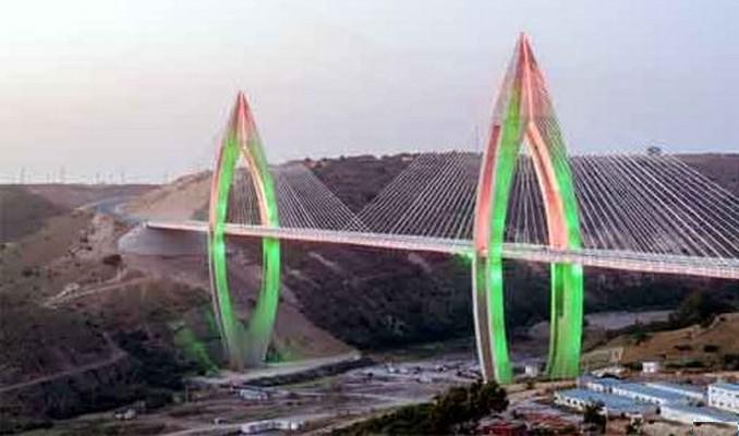 Diaspora saharaui maroc inauguration rabat du plus long pont haubans d - Premier pont a haubans ...