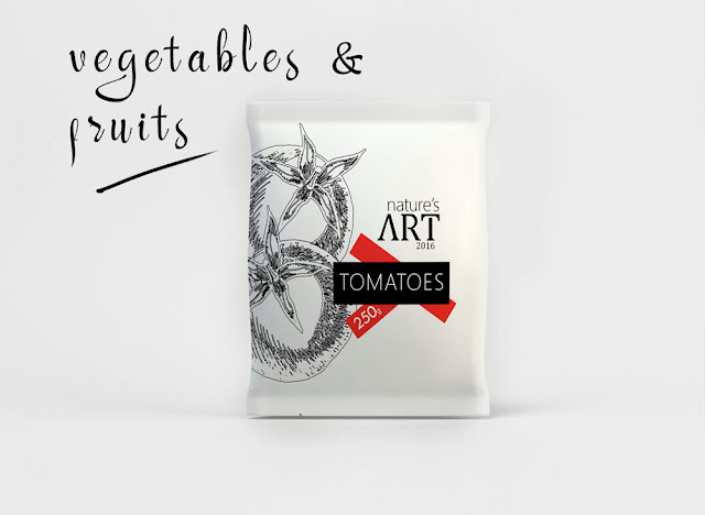 Vegetable Packaging Design