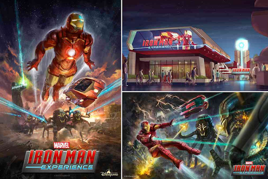 """Iron Man Experience"", Hong Kong Disney Land"