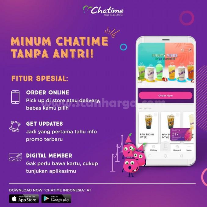 Promo Chatime Apps Spesial Pesan Dengan Aplikasi Diskon Hingga 90 Scanharga