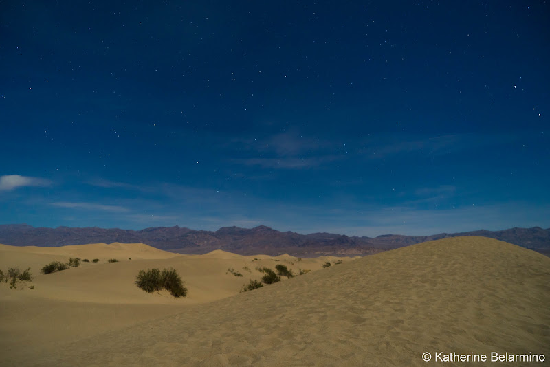 Mesquite Flat Sand Dunes Death Valley Road Trip Itinerary
