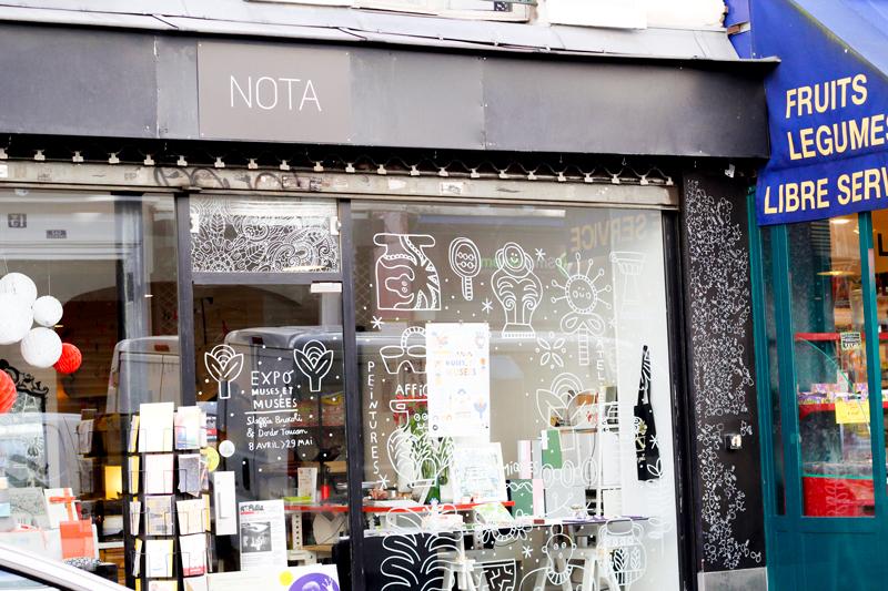 concept store Atelier Nota
