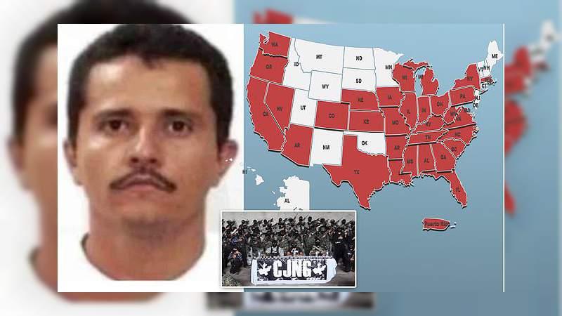 Cártel Jalisco opera ya en la mayor parte de EEUU y rebasará al de Sinaloa