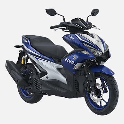 Harga Yamaha Aerox 155 Terbaru dan Spesifikasi Lengkap