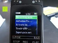Display: GHB 8GB Digitales Diktiergerät Aufnahmegerät Audio Voice Recorder mit Stereoaufnahmen, MP3 Player und USB Spericher -Schwarz