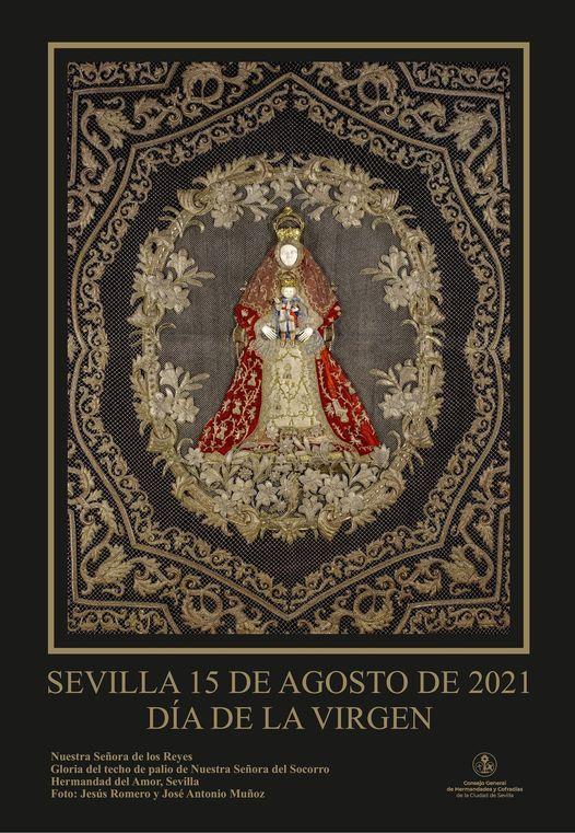 Cartel del Día de la Virgen 21 de Sevilla