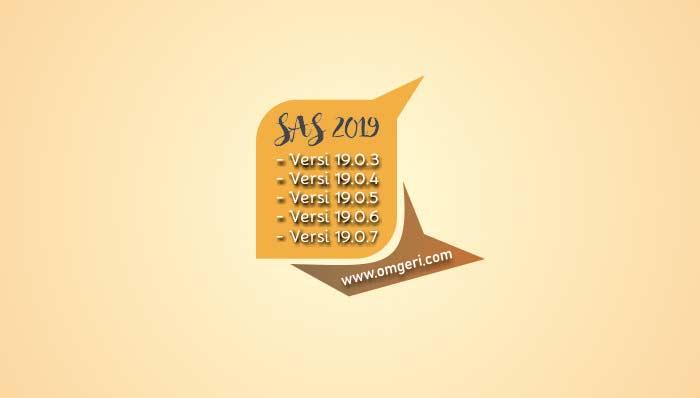 Update Aplikasi SAS 2019