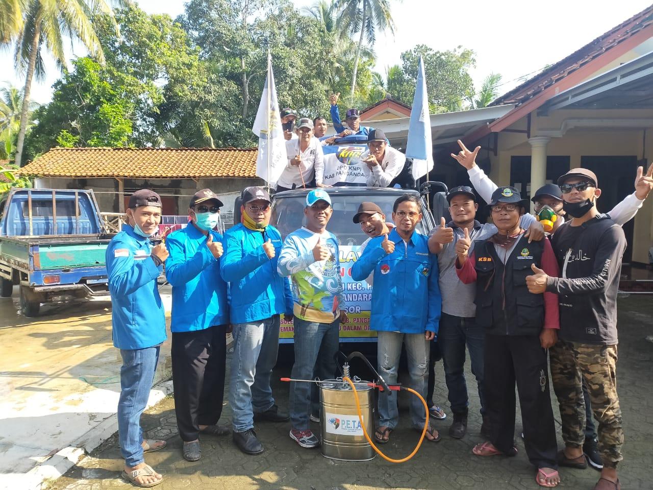 Kampung Siaga Covid-19 Desa Maruyungsari Pangandaran