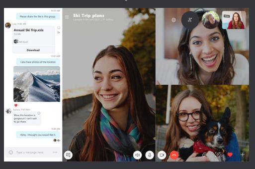 meeting online skype