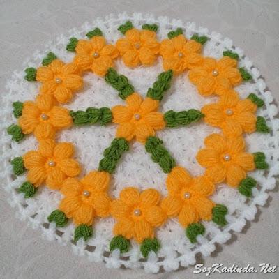 en güzel çiçekli lif modelleri facebook
