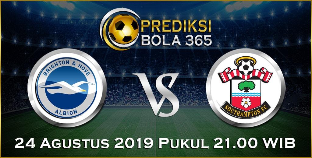 Prediksi Skor Bola Brighton vs Southampton 24 Agustus 2019