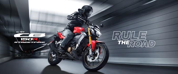 Pilihan Warna Honda CB150R 2021 Street Fighter