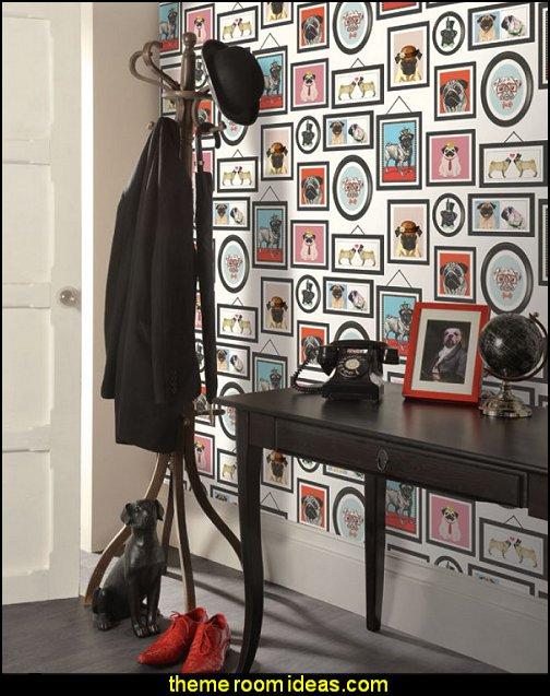 A Pug's Life Pug Frames Wallpaper
