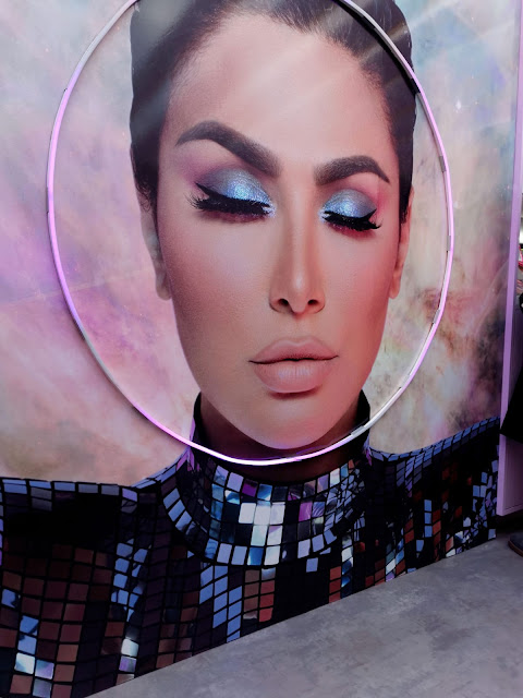 THE FIRST EVER HUDA BEAUTY POP UP EVENT IN LONDON'S COVENT GARDEN