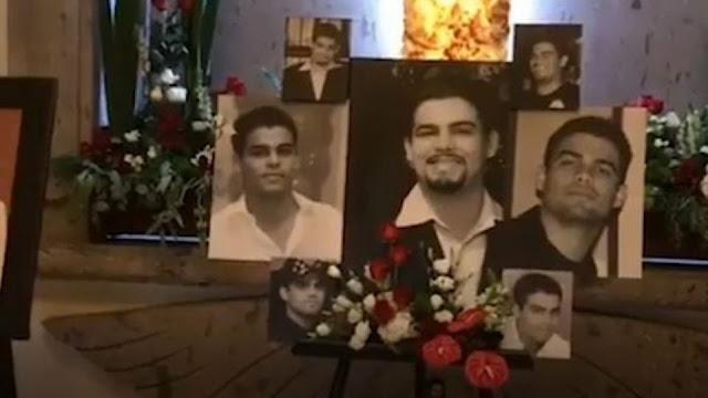 VIDEO-. Así recuerdan a Edgar Guzman, el hijo del Chapo, con música de banda en su tumba.