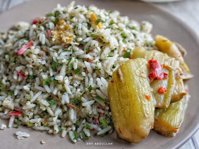 Resepi Nasi Ulam Kedah dan Sayur Keladi