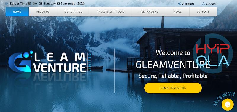 [SCAM] Review Gleamventure - Dự án chiến nhanh lãi từ 6% hằng ngày - Thanh toán Manual