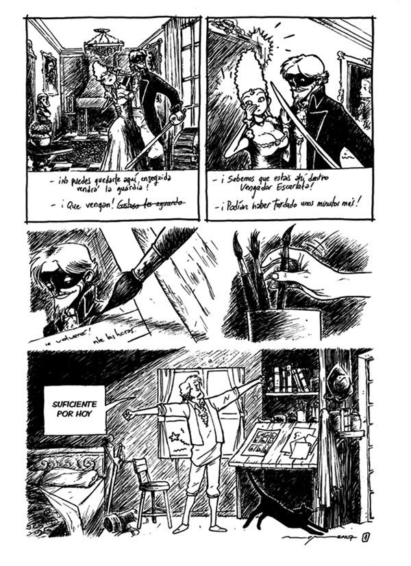 La última historieta: LA REVOLUCIÓN DE LOS PINCELES