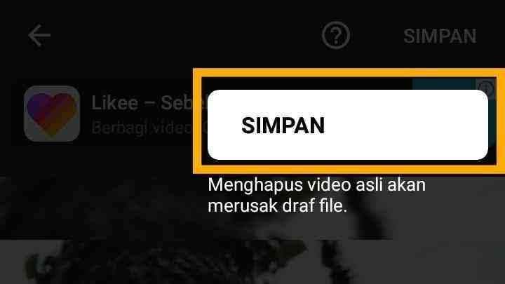 Aplikasi edit foto jadi video bergerak