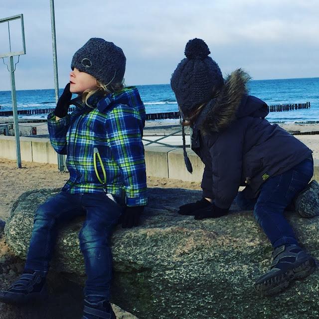 Bjarne und Jannes in Kühlungsborn