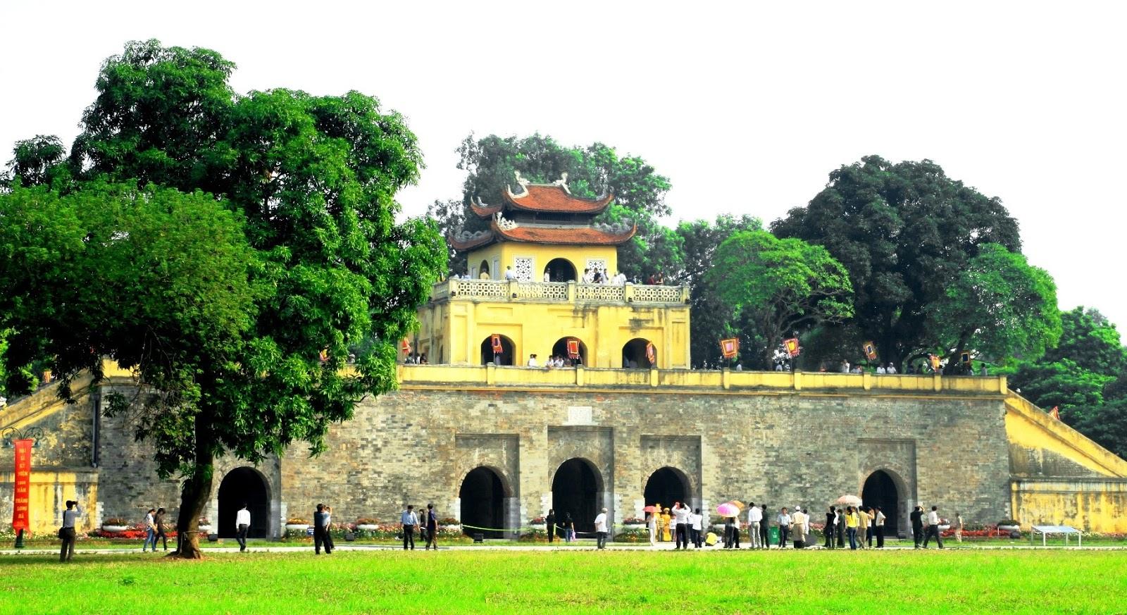 Chia sẻ kinh nghiệm du lịch Hà Nội tại Hoàng Thành Thăng Long