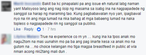 'Wala Bang Lugar Dito Para Magpadede?' Husband Takes A Photo Of Her Wife Breastfeeding In A Public Place And Wrote A Caption That Will Make You Think About What You Say!