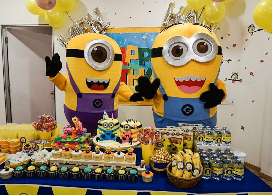 The Parenthood Playland, Sunway Putra Mall, theme birthday party, minion birthday party, nerf gun, The Parenthood Playland Theme Birthday Party, Lilipili cafe, minions cake,