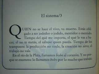 Relato El sistema-3 de El libro de los abrazos de Eduardo Galeano