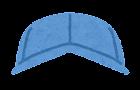 作業員の帽子のイラスト(男性)