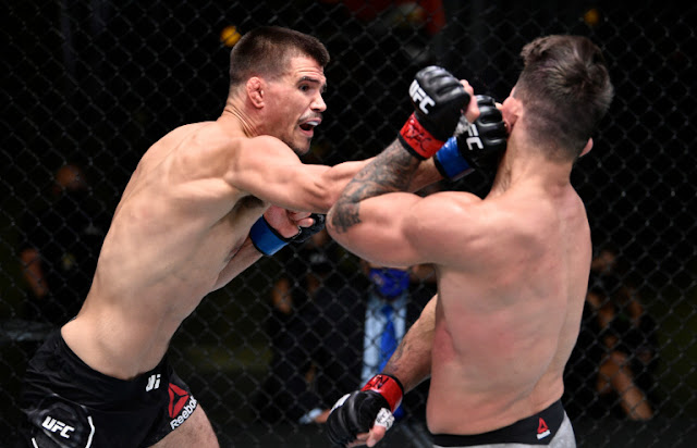 Mike Perry Mickey Gall UFC On ESPN 12