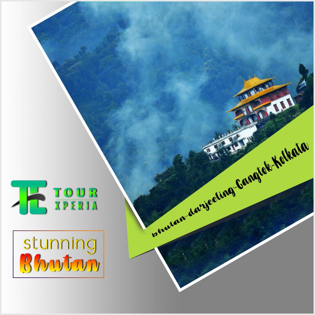 Bhutan-Darjeeling-Gangtok-Kolkata-Tour