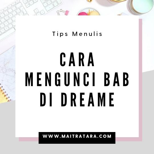 Cara mengunci bab di dreame