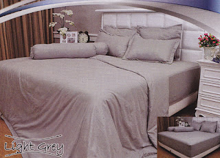 sprei Internal Vallery Light Grey