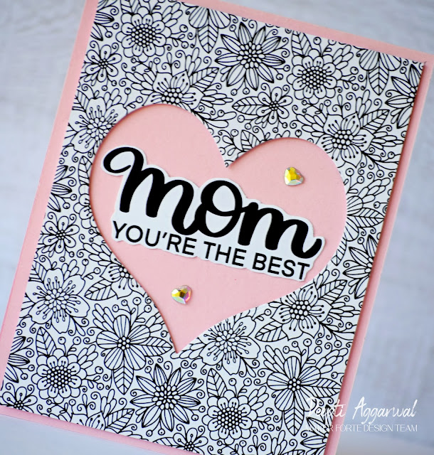 Mother's Day handmade Card