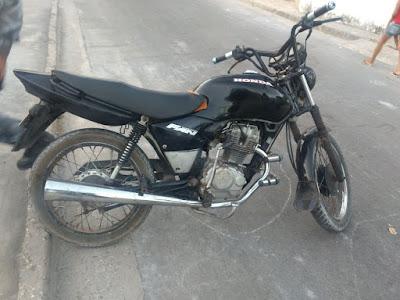 Polícia Militar de Chapadinha recupera motocicleta roubada que foi usada em diversos assaltos