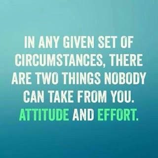 Attitude and Effort