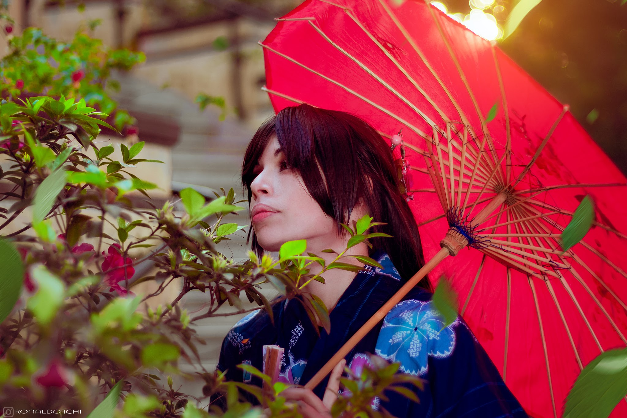 Cosplay - Nanami Momozono and Tomoe from Kamisama hajimemashita - photographer Ronaldo Ichi