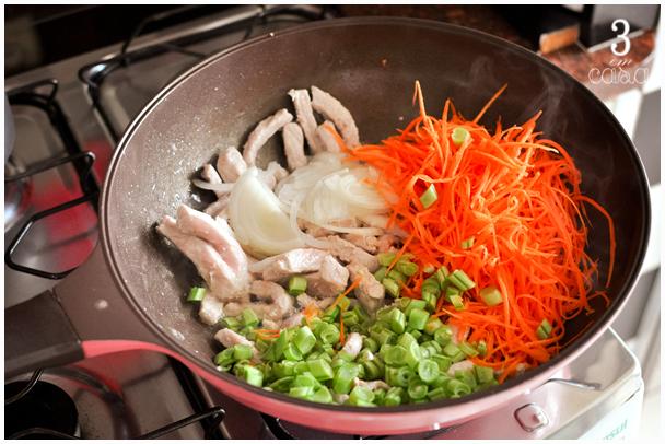 carne porco legumes como fazer