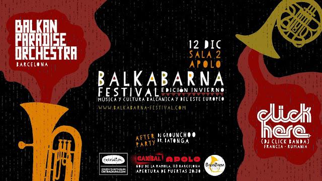 Balkabarna Festival Edición Invierno 2018