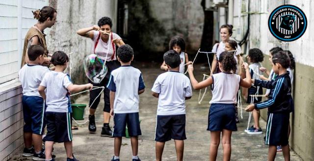 Circo do Asfalto promove um Dia de Circo no Tijuco Preto em Guarulhos
