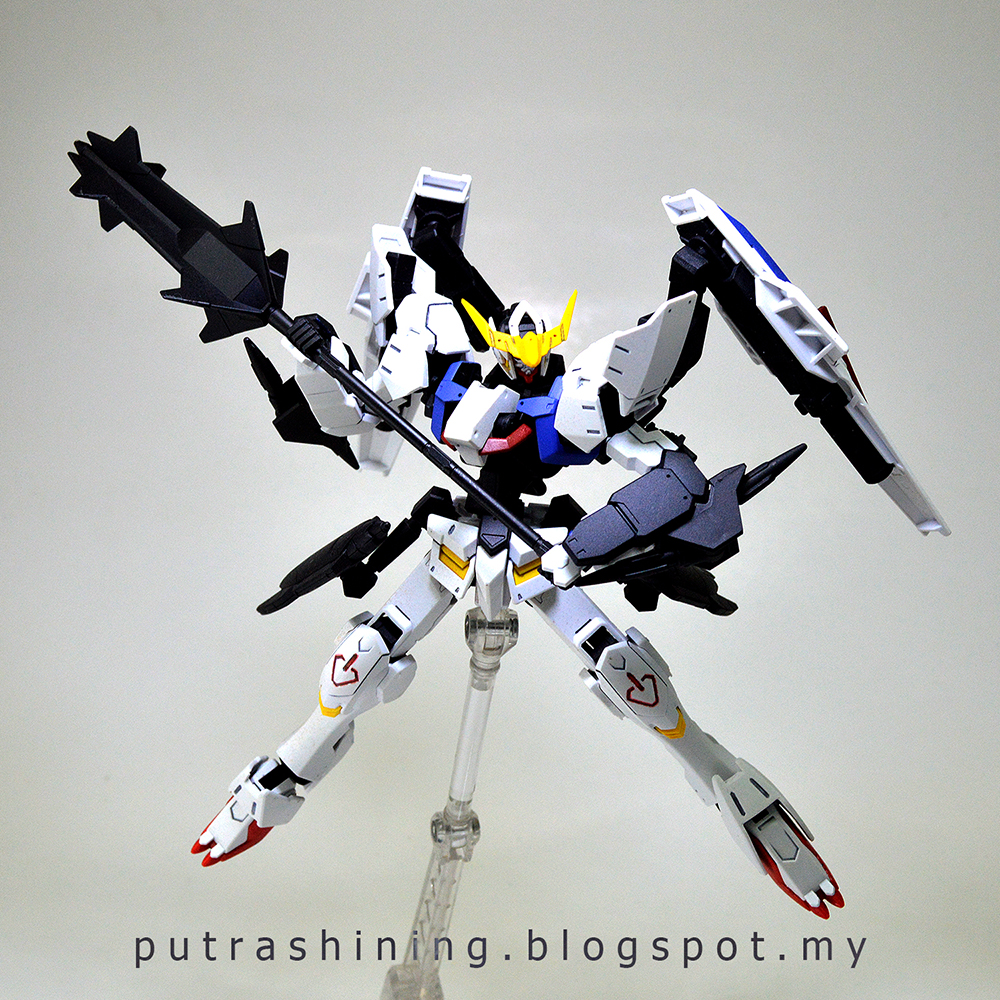 HGIBO 1/144 Gundam Barbatos 6th Form Custom by Putra Shining