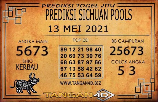 PREDIKSI TOGEL SICHUAN TANGAN4D 13 MEI 2021