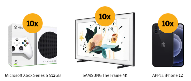 Concurs Altex si Mastercard - Castiga 10 TV Samsung The Frame QLED Smart + 10 smartphone iPhone 12 5G si 10 console Microsoft Xbox Serie S - castiga.net - card - plata - online
