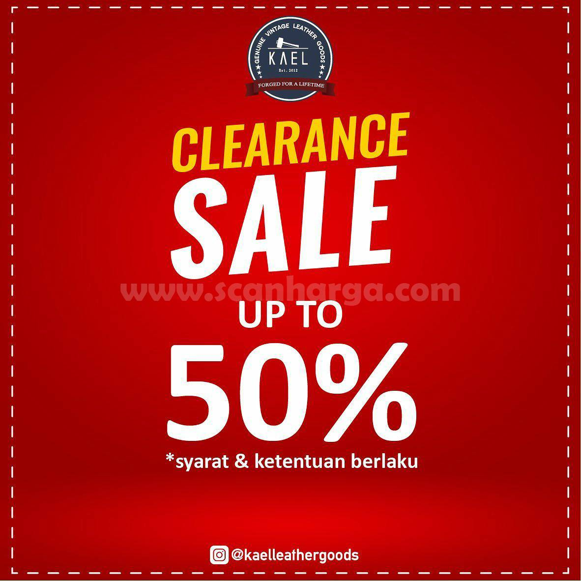 Promo KAEL Leather Goods Clearance Sale Up to 50% Off* 1