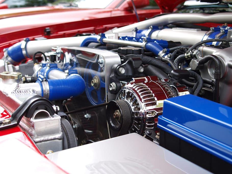 ilustrasi spare part engine Toyota